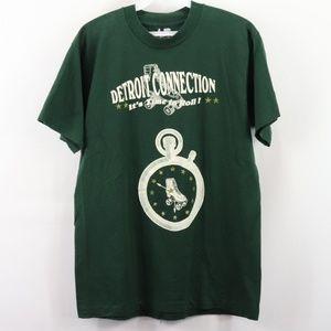 Vintage Detroit Connection Roller Skating T-Shirt
